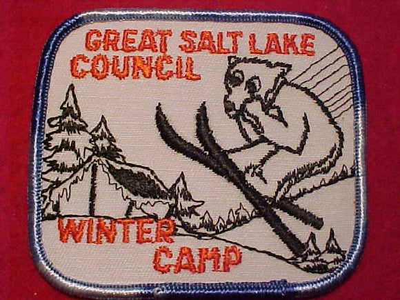 GREAT SALT LAKE C., WINTER CAMP