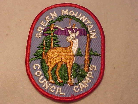 GREEN MOUNTAIN COUNCIL CAMPS