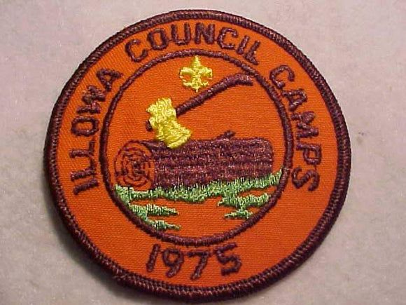 ILLOWA COUNCIL CAMPS, 1975