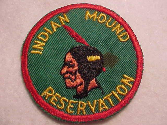INDIAN MOUND RESV., 1950'S, SKINNY FEATHER, USED