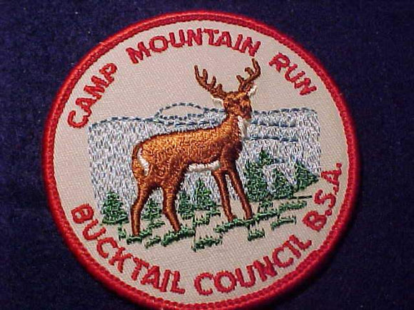 MOUNTAIN RUN, BUCKTAIL C., 1960'S