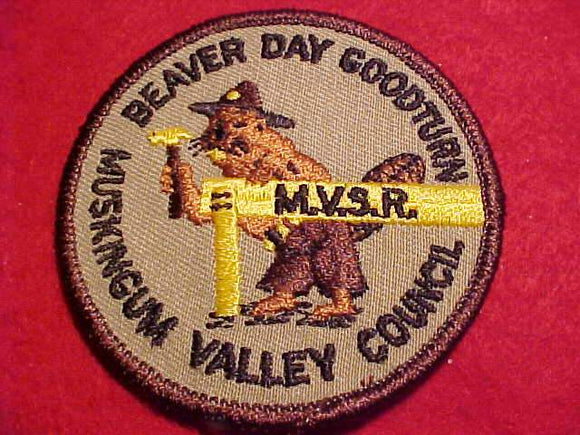 MUSKINGUM VALLEY SCOUT RESV., BEAVER DAY GOODTURN
