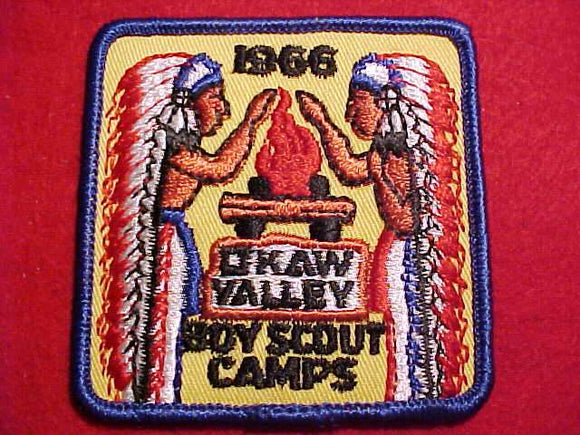 OKAW VALLEY BOY SCOUT CAMPS, 1966
