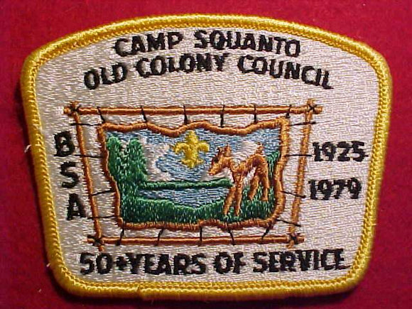 SQUANTO,  1979, OLD COLONY C.
