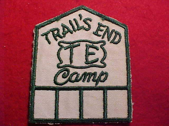 TRAIL'S END, MINT FRONT, GLUE ON BACK