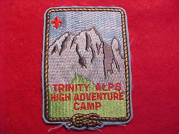 TRINITY ALPS HIGH ADVENTURE CAMP