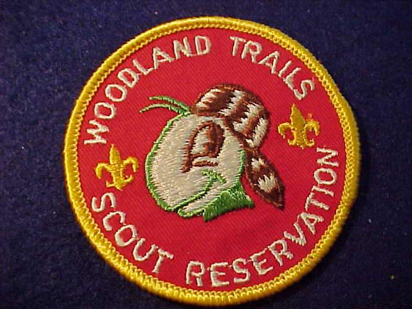 WOODLAND TRAILS SCOUT RESV., 1970'S?, CB