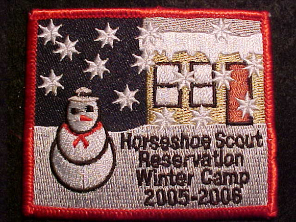 HORSESHOE SCOUT RESV., 2005-2006, WINTER CAMP