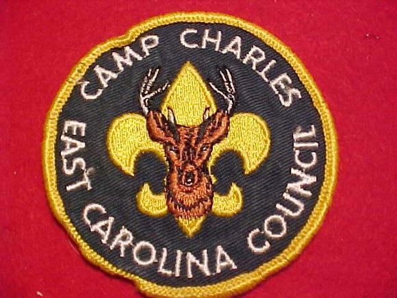CHARLES PATCH, EAST CAROLINA C., 1960'S, USED