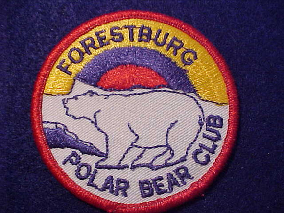 FORESTBURG PATCH, POLAR BEAR CLUB