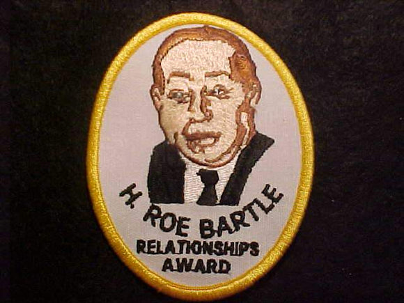 H. ROE BARTLE RELATIONSHIPS AWARD