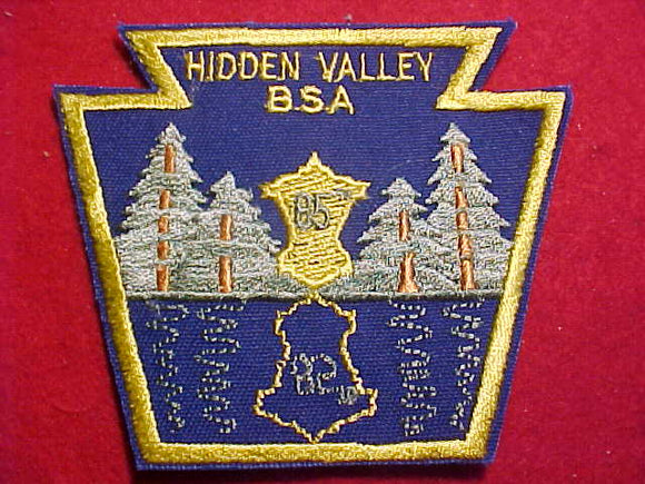 HIDDEN VALLEY, 85TH ANNIV.