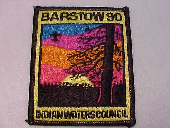 BARSTOW, 1990, INDIAN WATERS C.