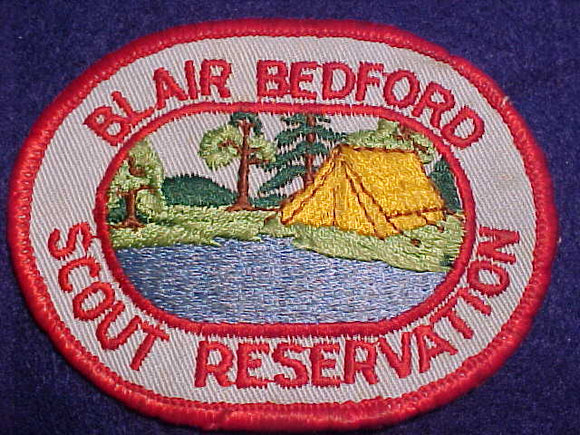 BLAIR BEDFORD SCOUT RESV., 1960'S, USED