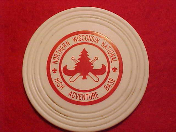 NORTHERN WISCONSIN NATIONAL HIGH ADVENTURE BASE DRINK COASTER