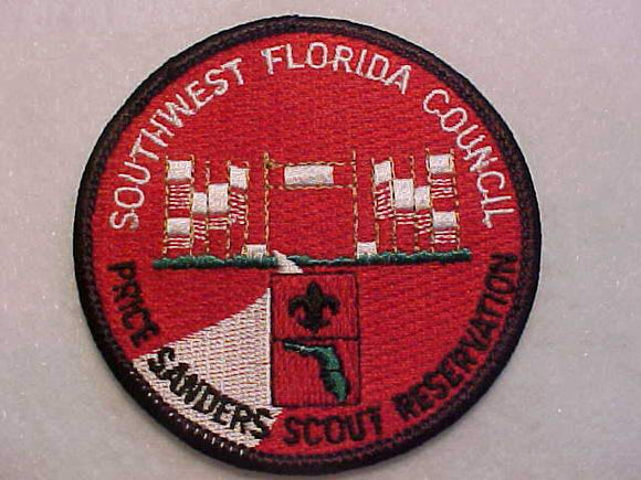 PRICE SANDERS SCOUT RESV., SOUTHWEST FLORIDA C.