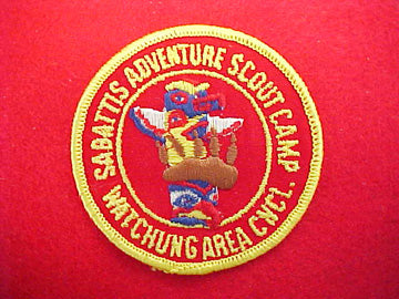 Sabattis Adventure Scout Camp 1960's