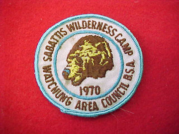 Sabattis Wilderness Camp 1970 Used