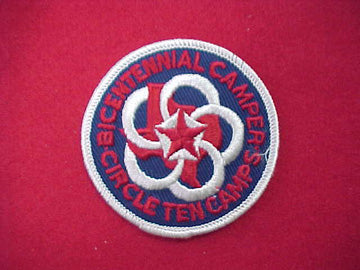 Circle Ten Camps 1976 (CA451)
