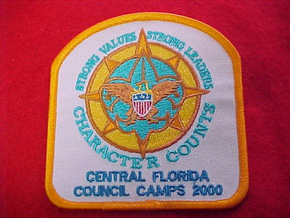 central florida council camps, 2000