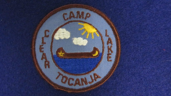 Camp Clear Lake Tocanja 1960's Issue