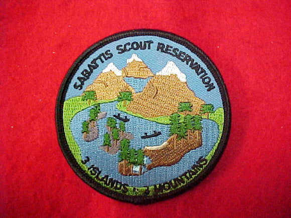 Sabattis scout resv. 3 Islands, 3 mountains