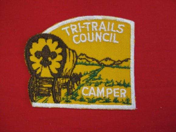 Tri-trails Council Camper , 1960's