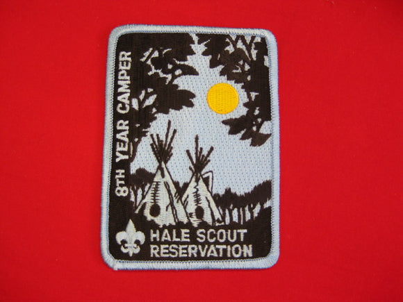 Hale Scout Reservation , 8th Year Camper