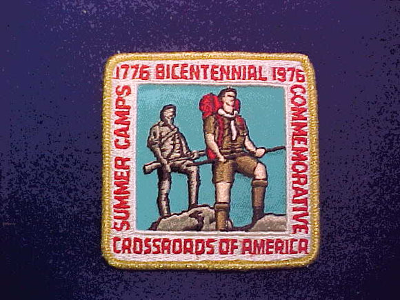 1976 CROSSROADS OF AMERICA SUMMER CAMPS