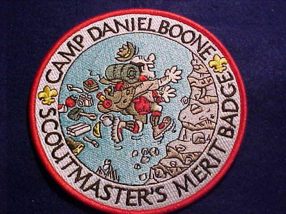 DANIEL BOONE JACKET PATCH, SCOUTMASTER'S MERIT BADGE, 5