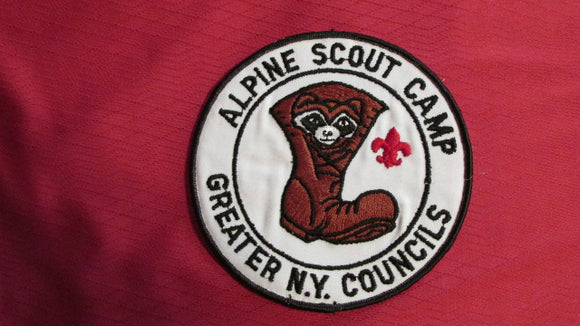 Alpine Scout Camp, Greater New York Councils, 5 round
