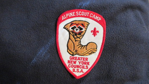 Alpine Scout Camp, Greater New York Councils, 4x5.5