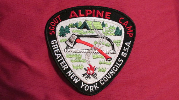 Alpine Scout Camp, Greater New York Councils, 5.75x5.75,variety #1