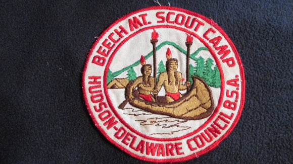 Beech Mt. Scout Camp, Hudson-Delaware Council, 1960's issue, 5.75
