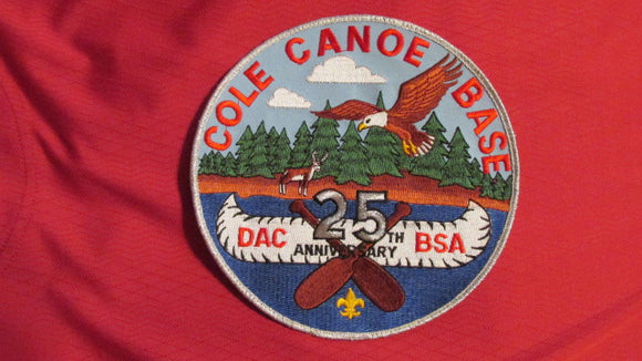 Cole Canoe Base, Detroit Area Council, 25th anniversary, 2002
