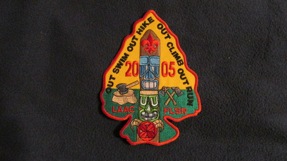 Forest Lawn Scout Reservation, 2005, Los Angeles Area Council, 4.75x6.5