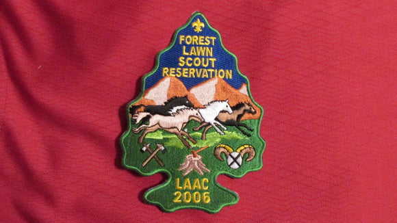 Forest Lawn Scout Reservation, 2006, Los Angeles Area Council, 4.25x5.75