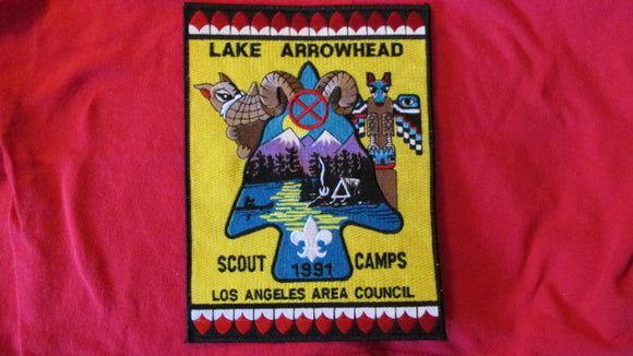 Lake Arrowhead Scout camps, 1991, Los Angeles Area Council