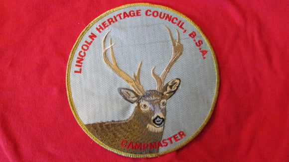 Lincoln Heritage Council, Campmaster, 7