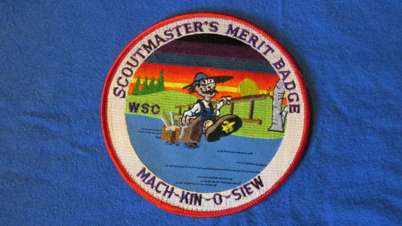 Mach-Kin-O-Siew, scoutmaster's merit badge, West Suburban Council, 5