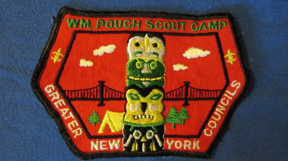 Wm. Pouch Scout Camp, Greater New York Councils, 5.5x3.75, used