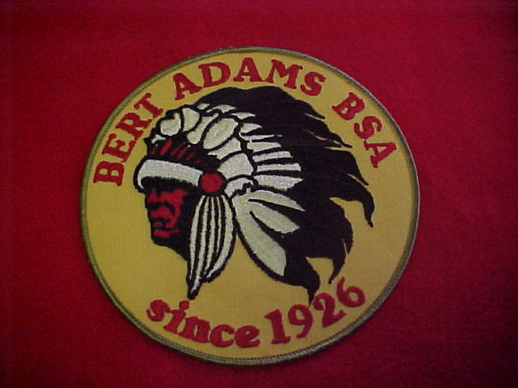 jacket patch, bert adams, 6 round