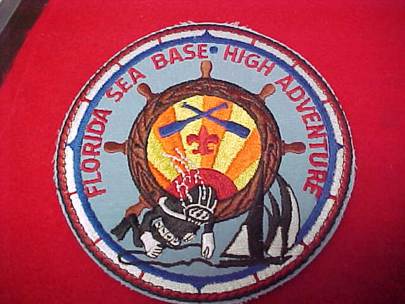 Florida Sea Base, 5.75 jacket patch