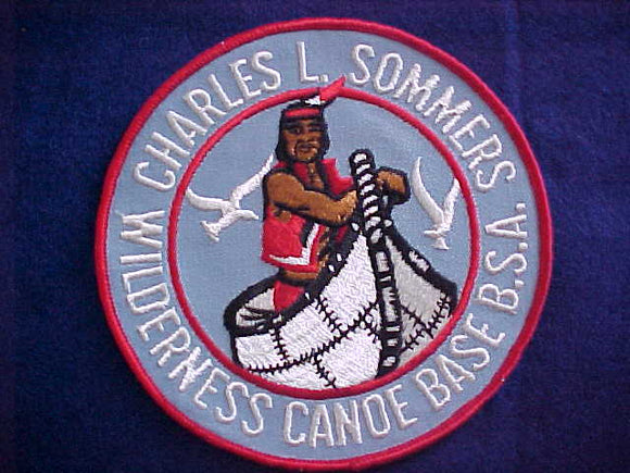 CHARLES L. SOMMERS WILDERNESS CANOE BASE JACKET PATCH