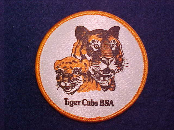 PATCH, TIGER CUBS BSA, 3