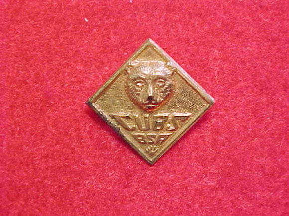 PIN, BEAR, CUBS BSA, THIN METAL VARIETY, WWII