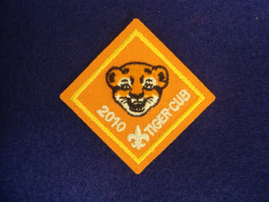 Tiger Cub 2010 Patch