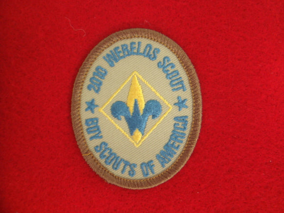 Webelos Scout 2010 Oval Patch