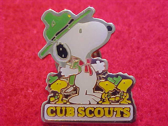 SNOOPY PIN, CUB SCOUTS