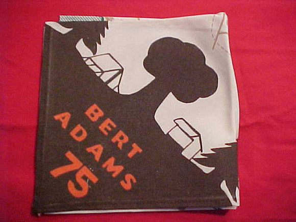 BERT ADAMS N/C WITH MAP, 1975, MINT